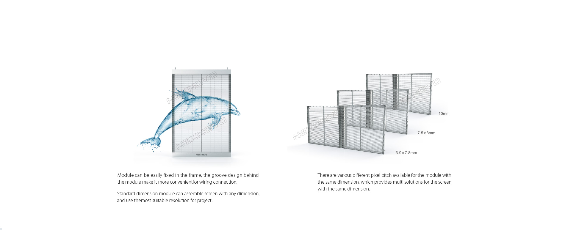 glass wall screen,glass wall facade,Transparent led display