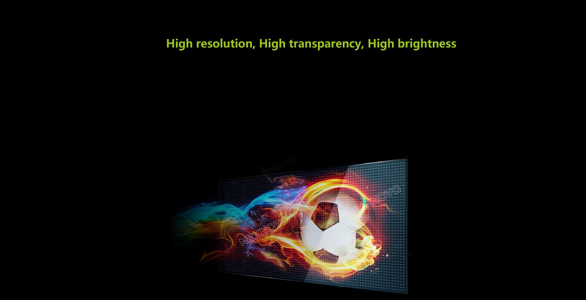 LED photoelectric glass screen6